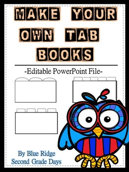 Tab Book Template Editable Powerpoint: Create Your Own Tab Books
