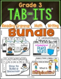 Tab-Its® BUNDLE for Grade 3   Distance Learning