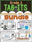 Tab-Its Mega Bundle - Grade 3 ON SALE for 48 hours