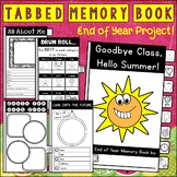 End of Year Memory Book | End of the School Year Activity