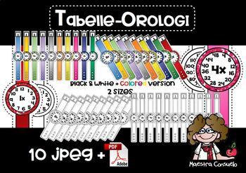 Tabelle orologi (corretta e ampliata) - Multiplication watches