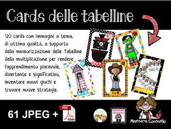 Tabelline cards