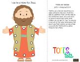 Tabitha (Dorcas) Printable Lacing Cards Activity