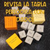 Tabla periódica: practica con dados
