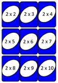 Tablas de multiplicar juego uno- game
