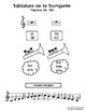 Tablature des instruments (Orchestre)
