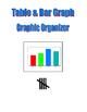 Table Bar Graph Graphic Organizer
