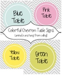Table Color Labels