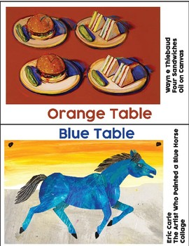 Table Color Labels