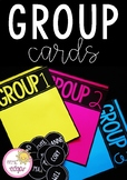 Table Group Cards   Bright and Bold