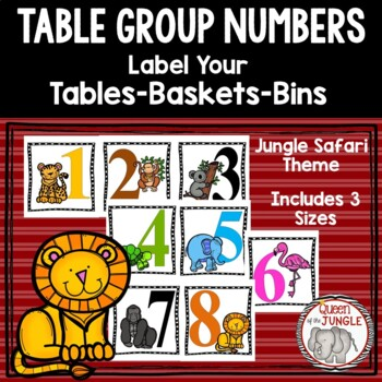 Table Group Signs