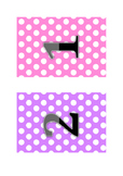 Table Groups - Number Polka Dots