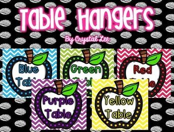 Table Hangers