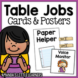 Table Jobs Cards and Posters