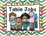 Table Jobs for Group Work