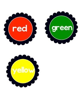 Table Labels: Colors