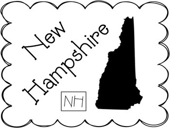Table Labels: New England States