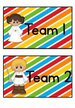Table Labels Team Labels Galaxy Theme
