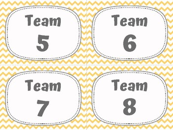 Table Labels for Cooperative Learning