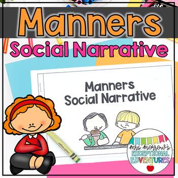 Table Manners/ Etiquette Social Story