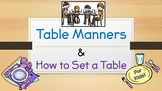 Table Manners and How to Set a Table (Powerpoint) for Kids