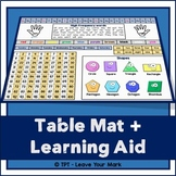 Table Mat - Literacy + Numeracy