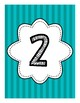 Table Numbers / Number Labels 1 - 10