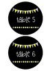 Table Numbers - Sunshine Flags