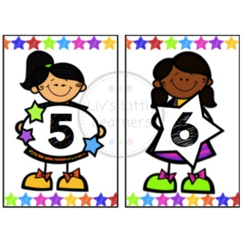 Ikea Frame Table Numbers (children)