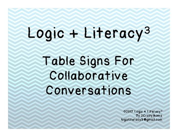 Table Numbers for Collaborative Conversations