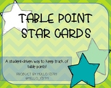 Table Point Cards