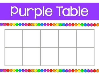 Table Points - Ten Frames