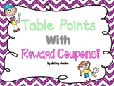 Table Points with Reward Coupons