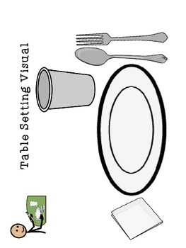 Table Setting and Manners for SPED