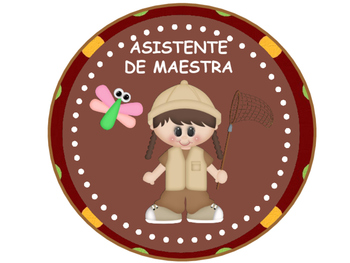 Tables Signs And Welcome Banner - Monkey Theme (SPANISH)