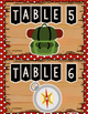 Table Signs - Camping Theme