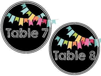 Table Signs FREEBIE