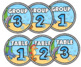 Table Signs and Labels ~ Editable – Ocean Theme