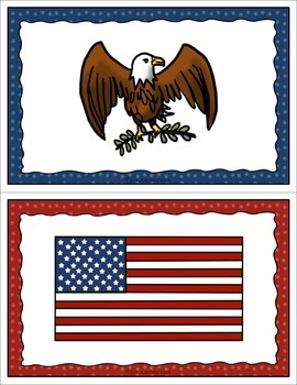 Table Signs for Learning- American Symbols