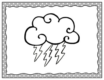 Table Signs for Learning- The Weather