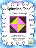 Spinning Tops: STEAM Challenge