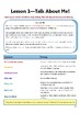 Table Talk! An ESL Conversation-based Learning Textbook