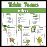 FREE Table Team Jobs