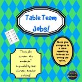Table Team Works Jobs