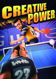 Table Tennis Poster: Creative Power
