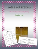Table Top Editing: The At-Your-Desk Guide to Editing Writing