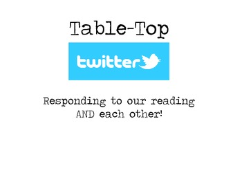 Table-Top Twitter FREE!