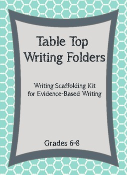Table Top Writing Reference Folders