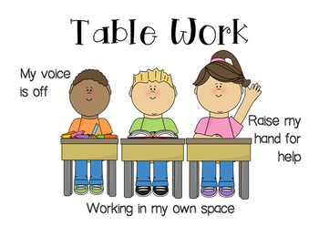 Table Work Expectations