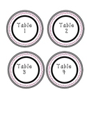 Table and Supply Caddy Labels